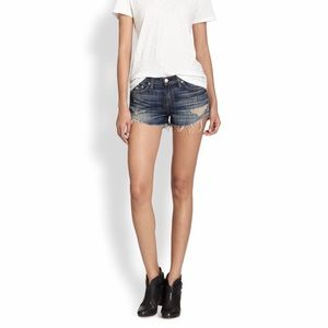 Rag & Bone/Jean Sheffield wash jean shorts sz 28